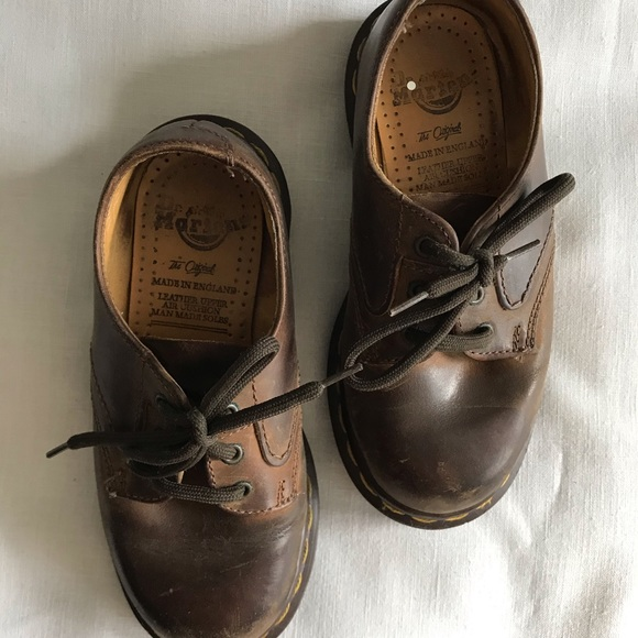 Dr. Martens Other - Kids Classic brown Dr. Martens Shoes size 12